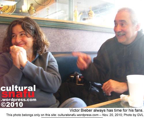 Meeting Victor at Shawarma King in Ottawa